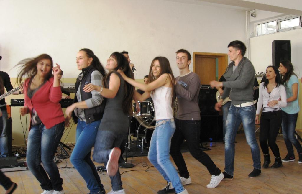 Concert la Colegiul Școlar Mecanică Fină București