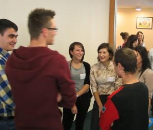 Elevii implicați în proiectul Zburd