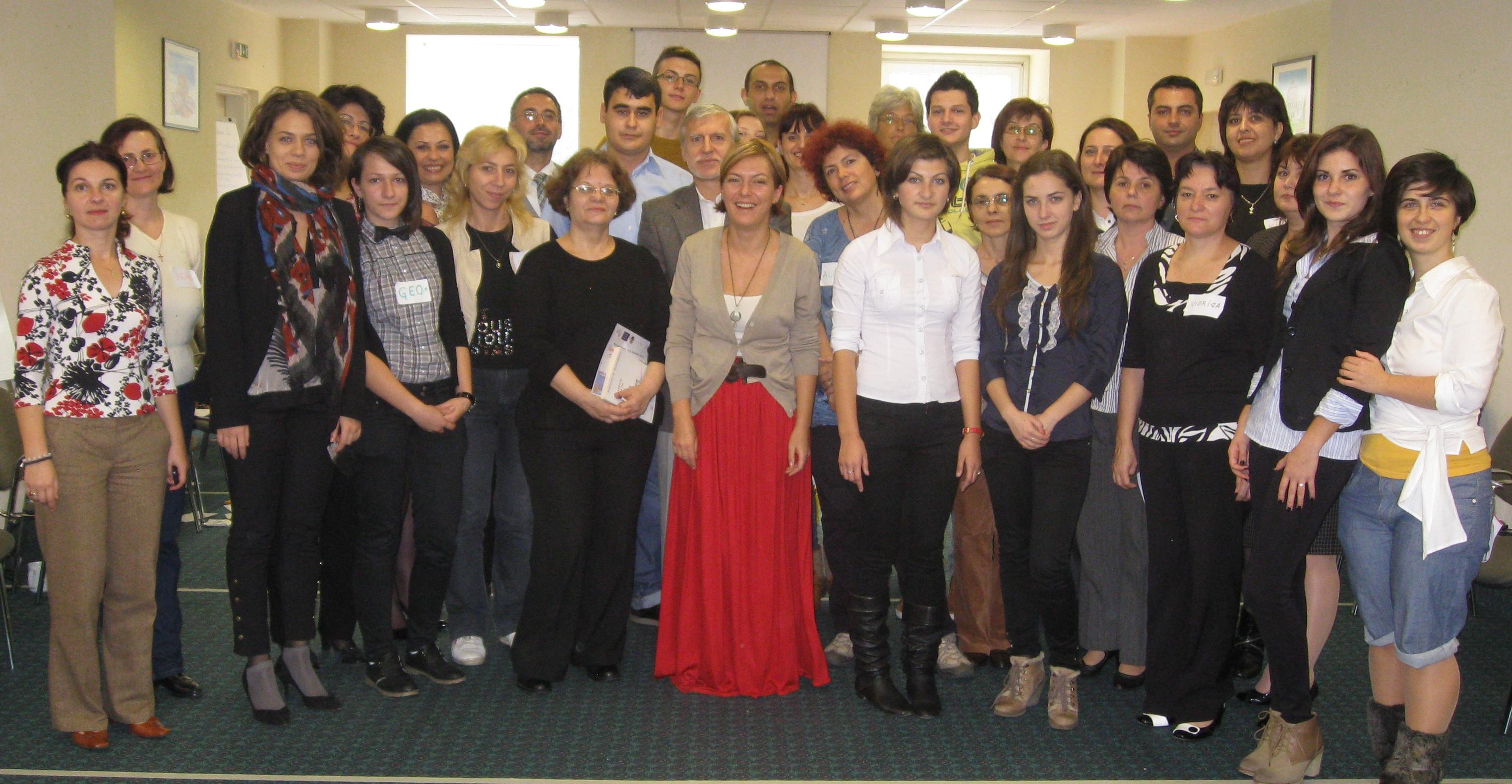 Participanții la întâlnirea Zburd - 4 noiembrie 2012