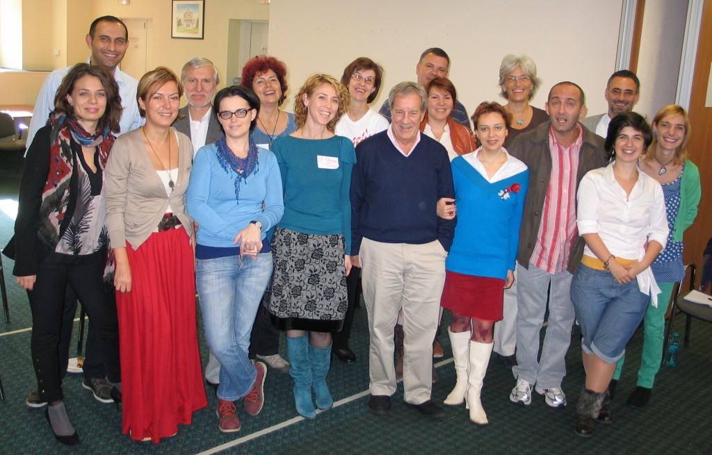 The team of coaches involved in the project - November 2012