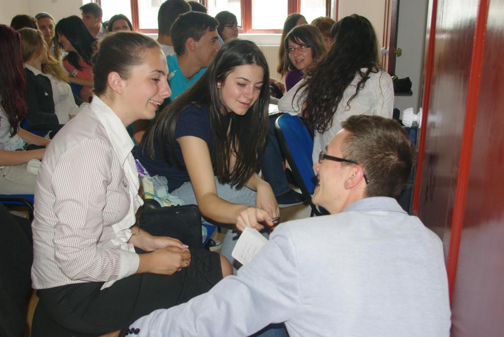 Elevii discută despre visurile lor