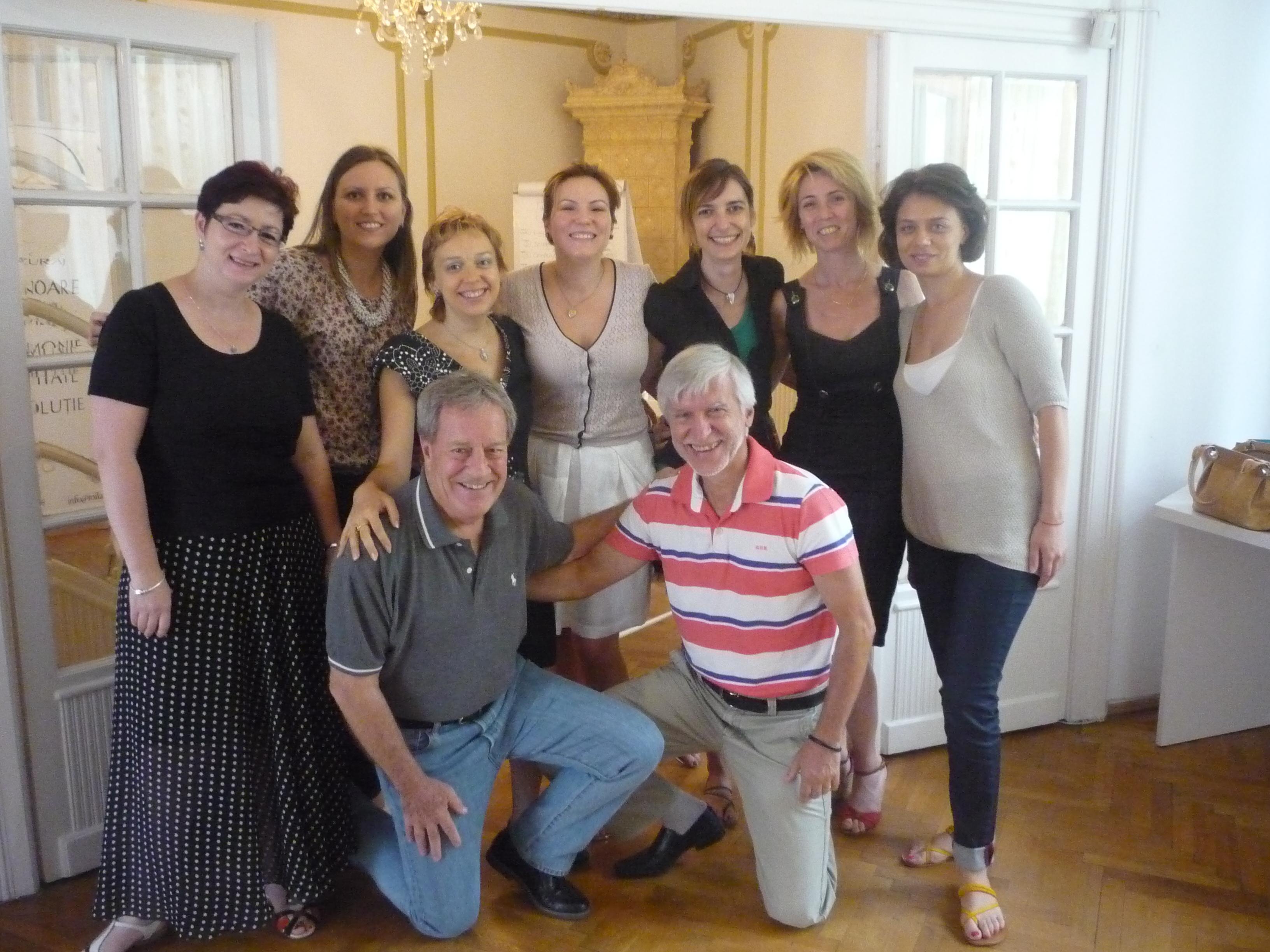 Intalnire a antrenorilor voluntari -15 iulie 2013