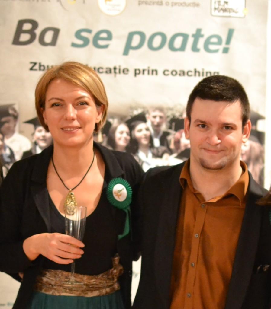 Simona David-Crisbășanu si Tedy Necula - Foto Olivian Breda