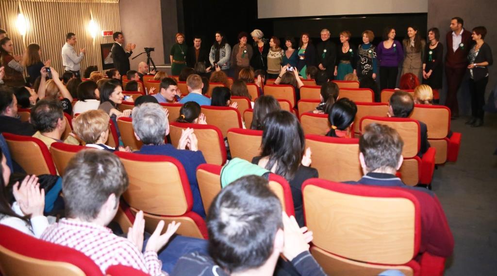 Echipa voluntarilor Zburd merită aplauze - Foto Marius Alexandru